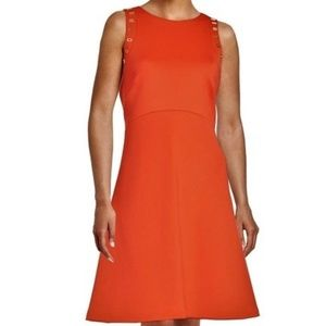 NWT Ivanka Trump Fit & Flare Skater Midi Dress 4